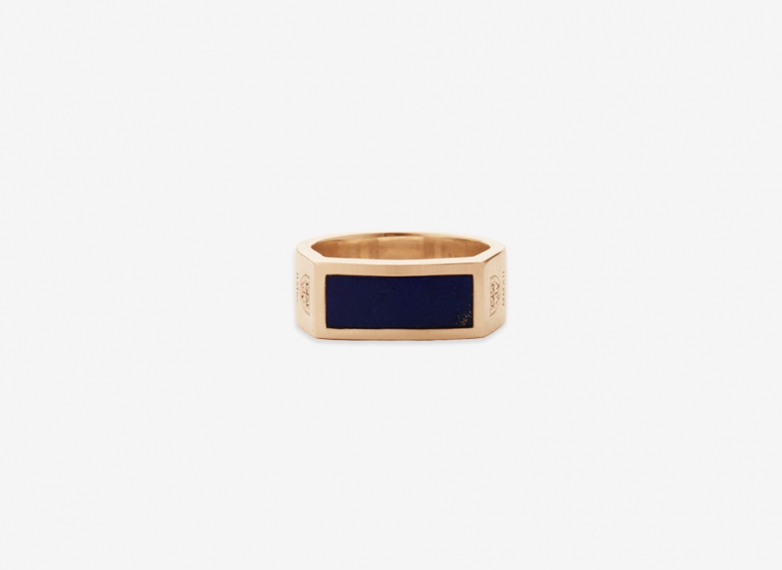 Clissold Flat Seal, Gold