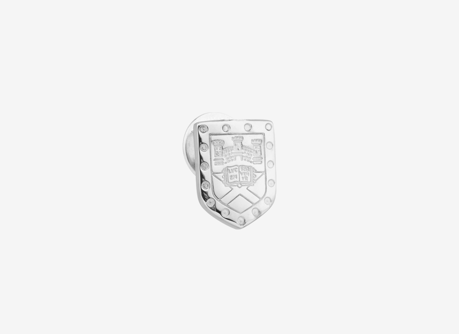 Westminster University Graduation Lapel Pin in Sterling Silver by Annotated Studios 11e