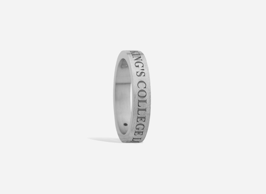 Classic Band in Sterling Silver, 4mm