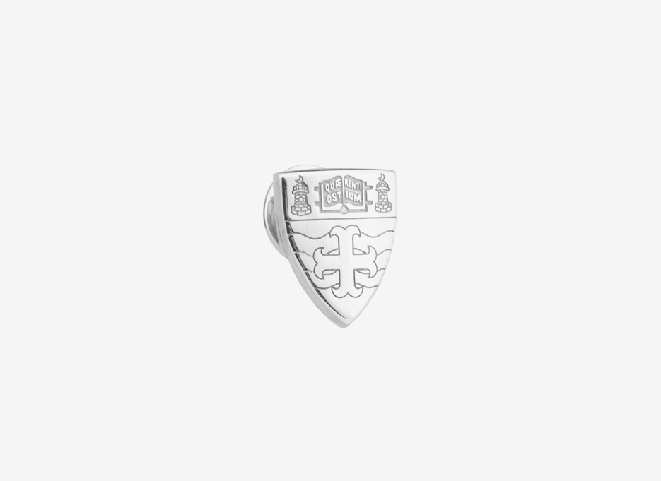Arp Lapel Pin, Sterling Silver