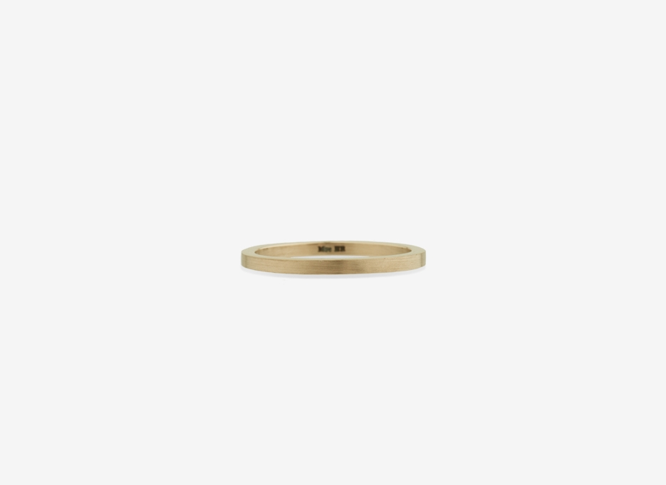 Slim Band in Gold, 1.5mm