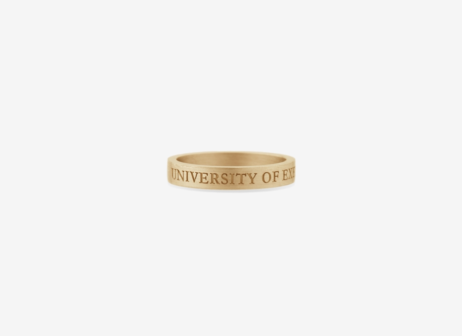 Classic Band in Gold, 4mm