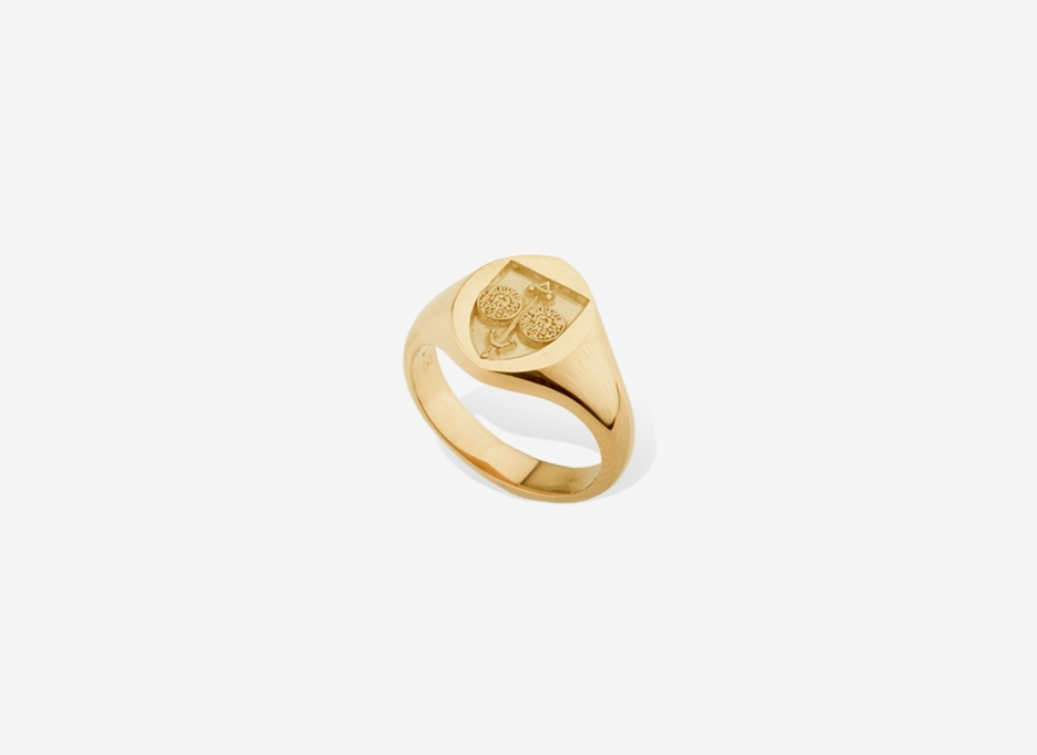 Small Sebald Seal in Gold, 11.5mm