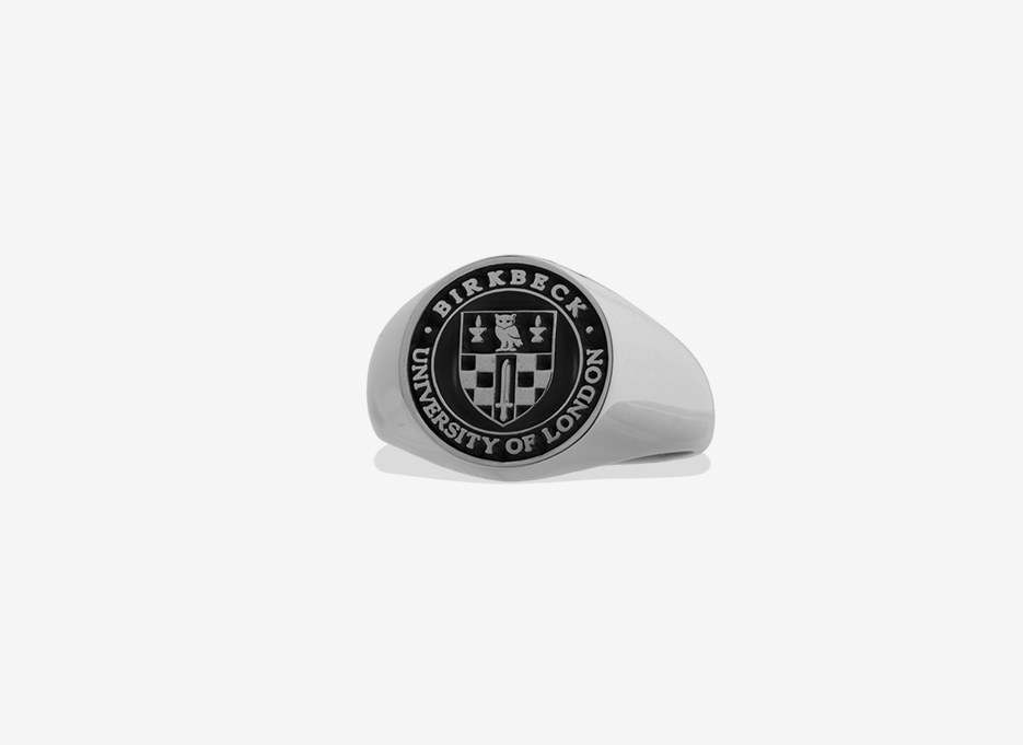 Classic Signet in Sterling Silver, 13mm
