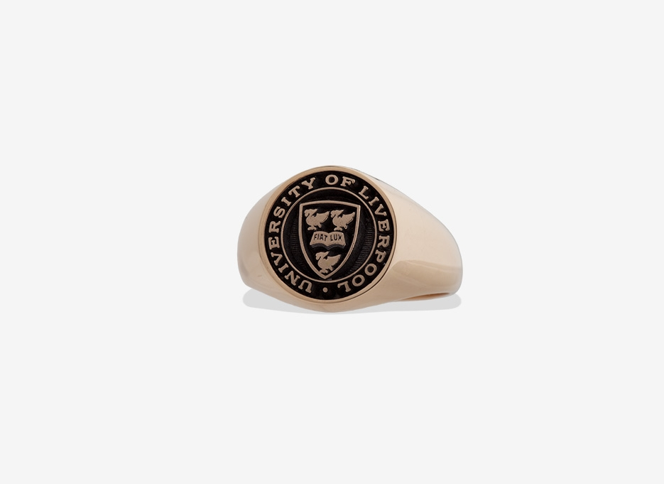 Classic Signet in Gold, 13mm