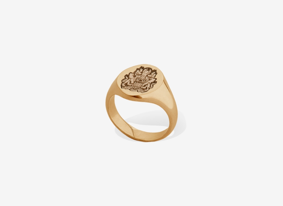 Classic Sebald Seal in Gold, 14.5mm