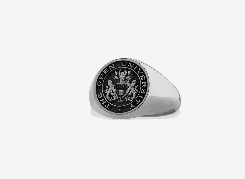 Medium Signet in Sterling Silver, 15mm