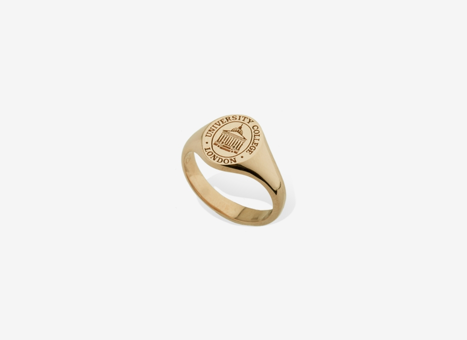 Small Sebald Seal in Gold, 11.5mm