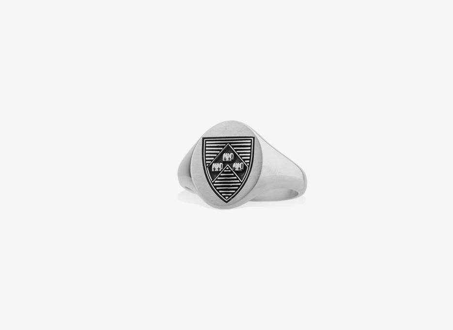 Classic Sebald Seal in Sterling Silver, 14.5mm