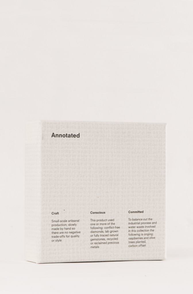 Annotated packaging